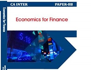 Paper 8B : Economics for Finance