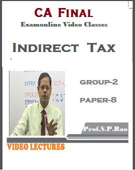 Advance Indirect Tax Laws