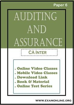 Paper 6:Auditing and Assurance