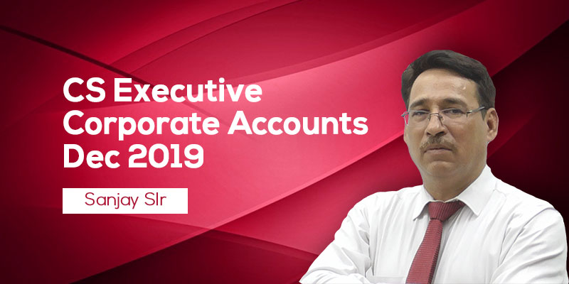 CS Executive Company Accounts by Sanjay Welkins : The Big Expert