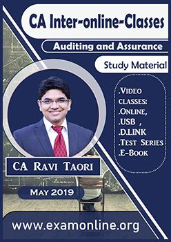 Auditing by CA Ravi Taori