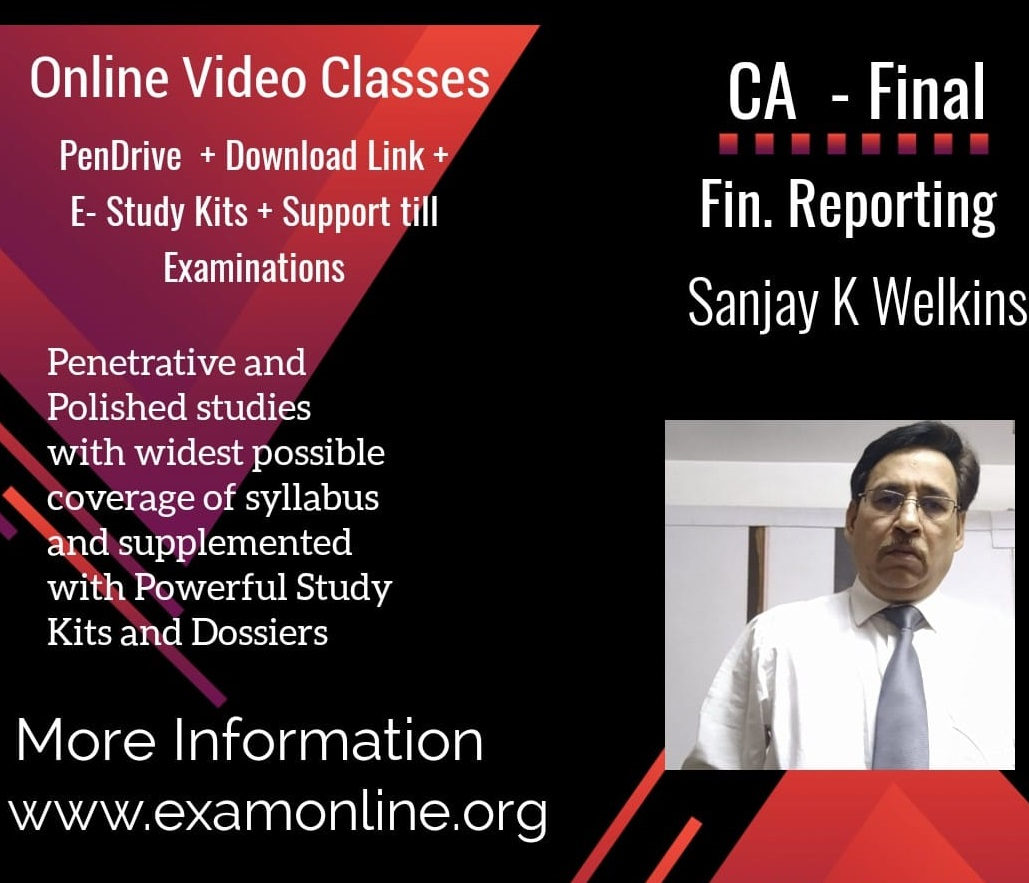 FR Video Class  by Prof Sanjay K Welkins