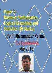 Paper-3-CA-Foundation by Dharmendra Verma