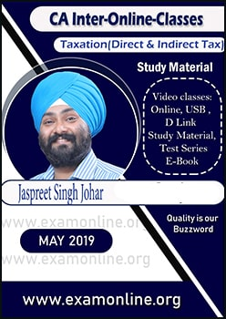 CA Inter Taxation  Online video Lectures by JS Johar