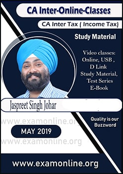 CA Inter Tax Online video Lectures by JS Johar