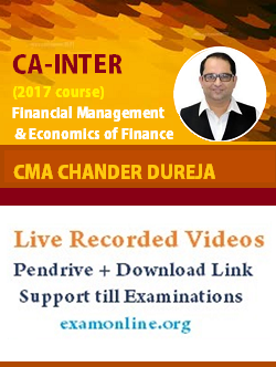 Financial Management by CMA-Chander Dureja