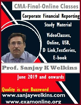 CFR video classes by Prof. Sanjay Welkins