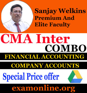 CMA Inter-Corporate Accounting & Financial Accounting Pendrive-Combo