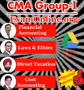 CMA Inter Group 1 All Subject Video Lectures